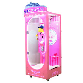 Coin Operated Claw Crane Machine Pink Large Toy Crane 110V - 220V Range